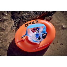Zone3 Swim Safety Buoy Donut Dry Bag, hi-vis orange